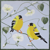 Pattern Pack - Finches and Morning Glories/1 SPO