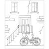 The Blue Door - Reusable Pattern (6 pack) SPO