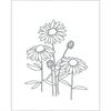 Field Flowers - Reusable Pattern (6 pack) SPO