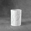 Tree Carved Heart Vessel/6 SPO