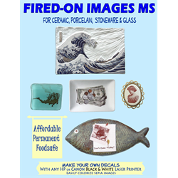 FIRED-ON IMAGES DECAL PAPER/10