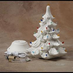 Seasonal 14 Christmas Tree With Base Light Kit 2
