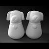 KITCHEN Bowser Salt and Pepper Set/4 SPO