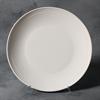 STONEWARE Rimmed Dinner Plate/6 SPO