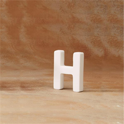 8bb0ac4543c5 GARE BISQUE LETTER H