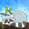 Pattern Pack - Snoozing Raccoon/1 SPO