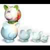 BANKS PIGOSAURUS BANK/2 SPO