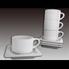 MUGS Stackable Mocha Cup/4 SPO