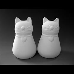 KITCHEN Whiskers Salt and Pepper Set/4 SPO