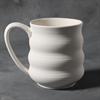 STONEWARE Wavy Mug/6