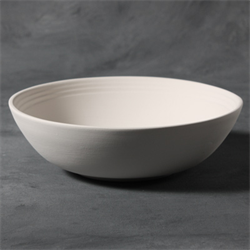 STONEWARE Rimmed Bowl/6